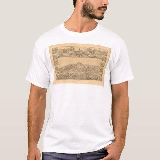 T-shirt San Rafael, carte panoramique de CA (1576A)