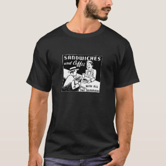 T-shirt Sandwichs et café-restaurant