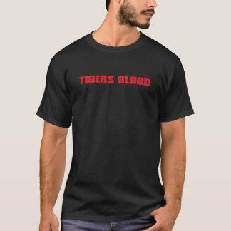 T-shirt Sang de tigres