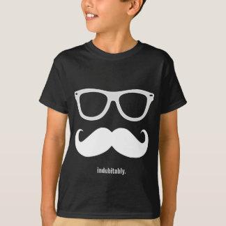 T-shirt sans aucun doute - moustache et lunettes de soleil