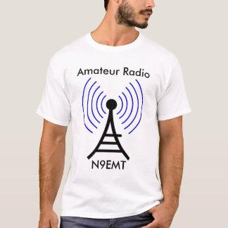 T-shirt sans fil par radio de tour
