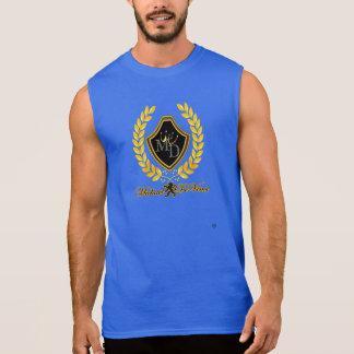 T-shirt sans manche de coton de Michael DeVinci