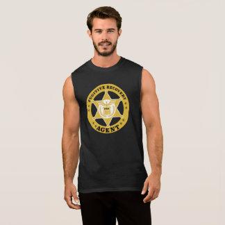 T-shirt sans manche de RÉCUPÉRATION de coton