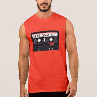 T-shirt sans manche du coton des vieux de Skool