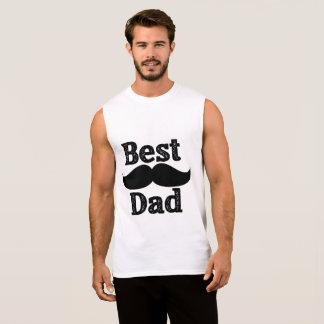 T-shirt sans manche du meilleur papa