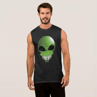 T-shirt sans manche étranger vert