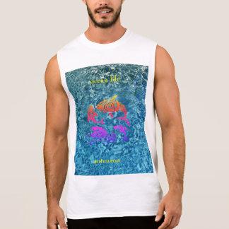 T-shirt Sans Manches aotearoa de la vie d'océan