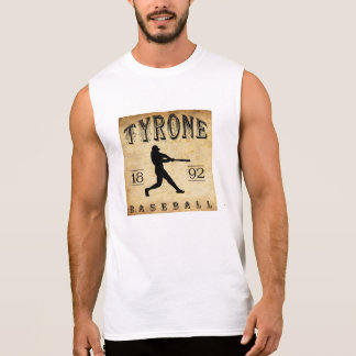 T-shirt Sans Manches Base-ball 1892 de Tyrone Pennsylvanie