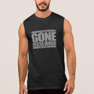 T-shirt Sans Manches BOIRE ALLÉ de COCKTAIL - amour d'I tous les