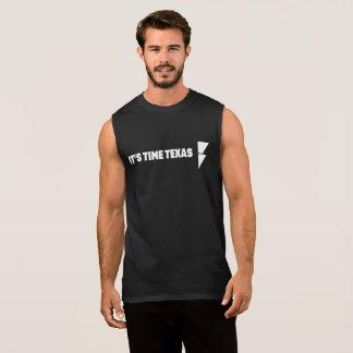 T-shirt Sans Manches C'est le réservoir des hommes du TEXAS de TEMPS