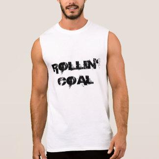 T-shirt Sans Manches Charbon de Rollin