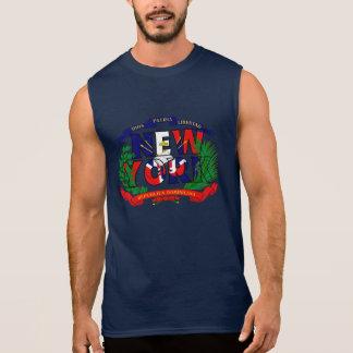 T-shirt Sans Manches Chemise de New York - République Dominicaine