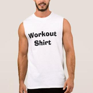 T-shirt Sans Manches Chemise de séance d'entraînement