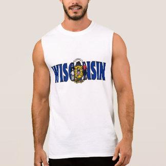 T-shirt Sans Manches Chemise du Wisconsin