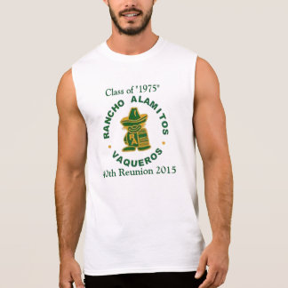 T-shirt Sans Manches Classe de Rancho Alamitos de T classique de 1975