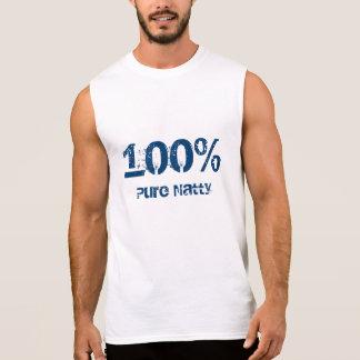 T-shirt Sans Manches Élégant pur de 100%