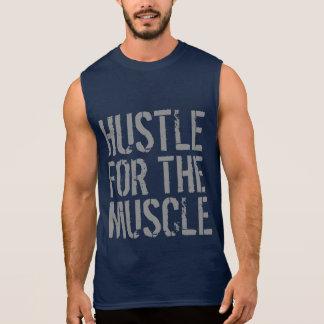 T-shirt Sans Manches Hâte pour le gymnase et la forme physique de
