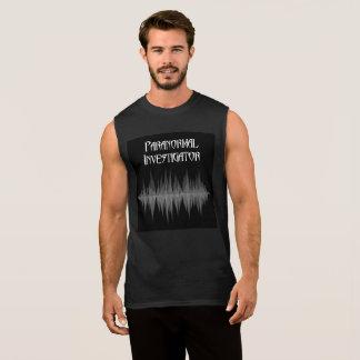 T-shirt Sans Manches Hommes paranormaux de Soundwave d'investigateur