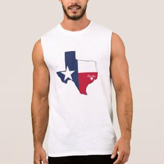 T-shirt Sans Manches Houston, le Texas