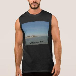 T-shirt Sans Manches Île de Galveston, le Texas