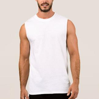 T-shirt Sans Manches La chemise sans manche des hommes