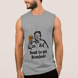 T-shirt Sans Manches La Corée du Nord, accès de Kim Jong pour obtenir à
