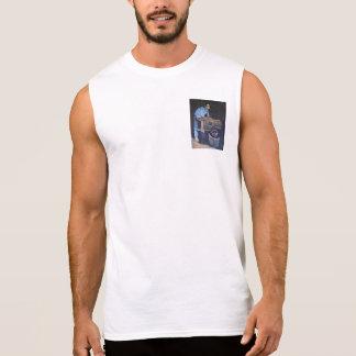 T-shirt Sans Manches Le fabricant de vin. Une étude dans le soin et la