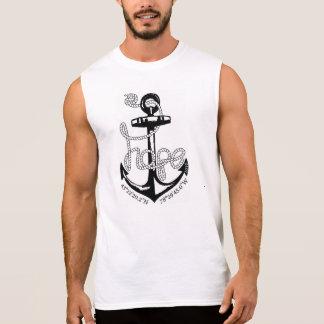 T-shirt Sans Manches Le réservoir sans manche des hommes
