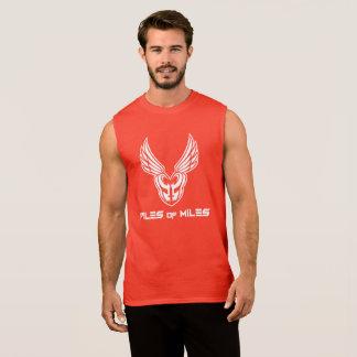 T-shirt Sans Manches Les piles des milles choisissent la couleur sans