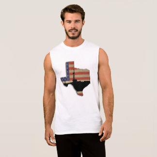 T-shirt Sans Manches Plate-forme de forage de forage de pétrole
