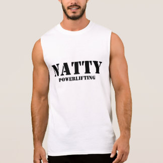 T-shirt Sans Manches Powerlifting élégant