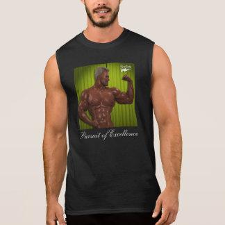 """T-shirt Sans Manches Scolletta """"poursuite de l'excellence"""" sans manche"""