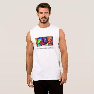 T-shirt Sans Manches T sans manche avec le logo de Lee Vandergrift