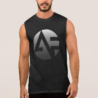 T-shirt Sans Manches T sans manche des hommes - argent AF avec