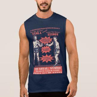 T-shirt Sans Manches Tesla v. Edison