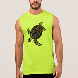 T-shirt Sans Manches Tortue