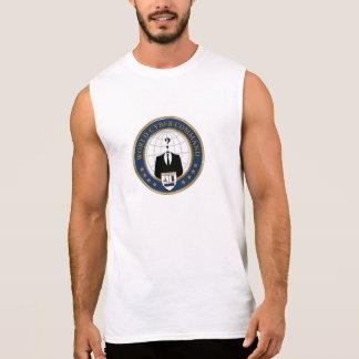 T-shirt Sans Manches T'shirt Men World Cyber Command
