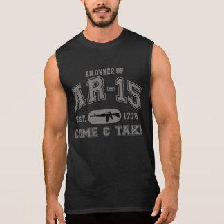 T-shirt Sans Manches Venez prendre la chemise AR-15