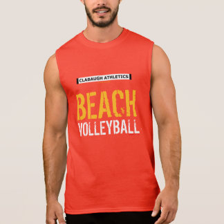 T-SHIRT SANS MANCHES VOLLEYBALL DE PLAGE