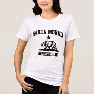 T-shirt Santa Monica la Californie