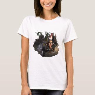 T-shirt Sara dans le désert