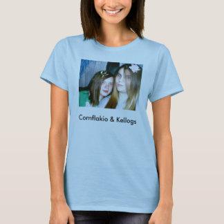 T-shirt sara et MOIS 012, Cornflakio et Kellogs