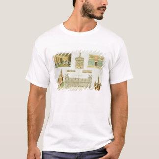 T-shirt Sarcophages d'Etruscan et tombes, plat 7, classe