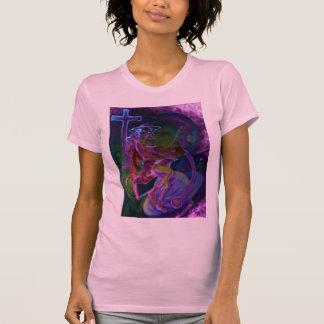 T-shirt Saturn venteux psychédélique