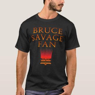 T-shirt sauvage de fan de Bruce