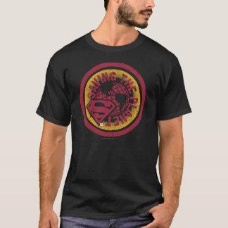 T-shirt Sauvegarde du cercle de rouge de planète