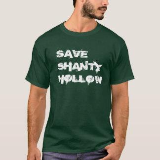T-shirt Sauvez la chemise creuse d'hutte