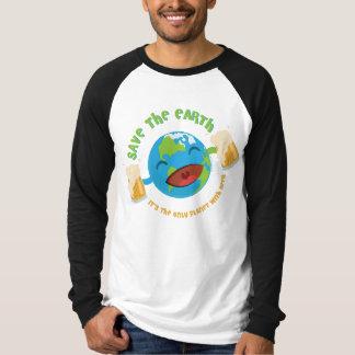 T-shirt Sauvez la terre