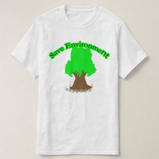 T-shirt Sauvez l'environnement