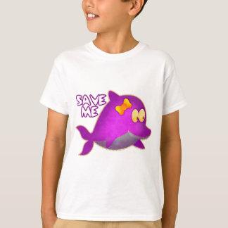 T-shirt Sauvez-moi des ÉCONOMIES les BALEINES